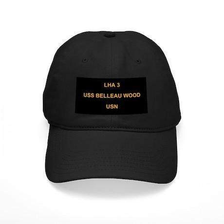 Black USS BELLEAU WOOD Cap 3