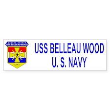 USS BELLEAU WOOD Bumper Bumper Sticker