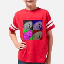 Maltepoo_pillow4 Youth Football Shirt