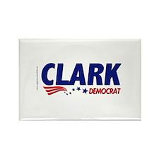 """Clark Democrat"" Rectangle Magnet"