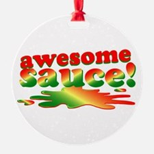 Awesome Sauce Ornament