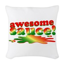 Awesome Sauce Woven Throw Pillow
