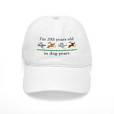85 dog years birthday 2 Baseball Baseball Cap