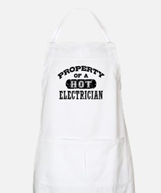 Property of a Hot Electrician Apron