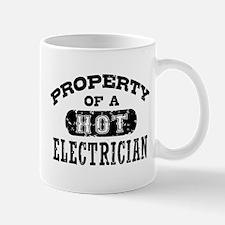 Property of a Hot Electrician Mug