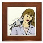 Pigeon Pal Framed Tile