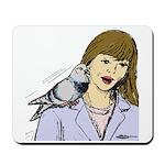 Pigeon Pal Mousepad