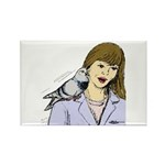 Pigeon Pal Rectangle Magnet (10 pack)
