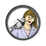 Pigeon Pal Wall Clock