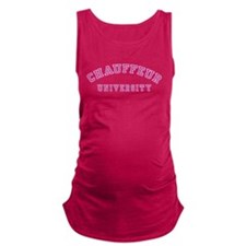 Chauffeur University Maternity Tank Top