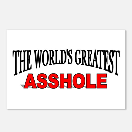 """""""The World's Greatest Asshole"""" Postcards (Package"""