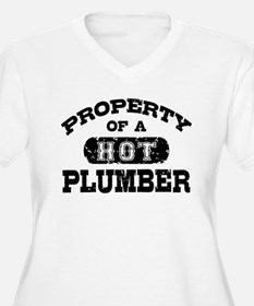 Property of a Hot Plumber T-Shirt