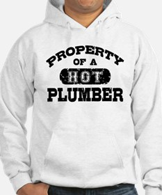 Property of a Hot Plumber Hoodie