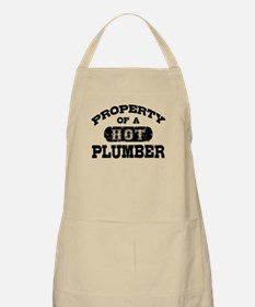 Property of a Hot Plumber Apron