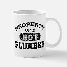 Property of a Hot Plumber Mug
