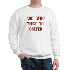She Who Must Be Obeyed Jumper