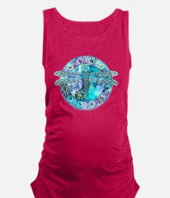 Cool Celtic Dragonfly Maternity Tank Top