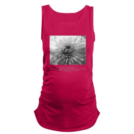 Extend Self Outward Quote Maternity Tank Top