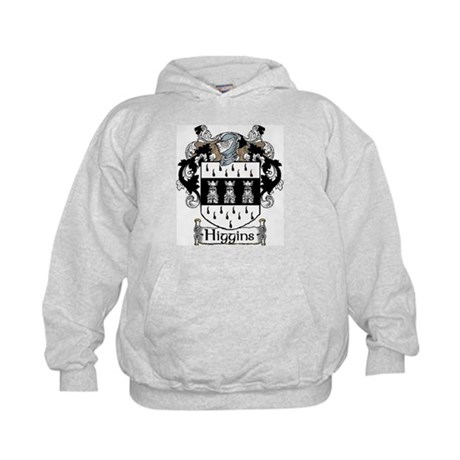 Higgins Coat of Arms Kids Hoodie