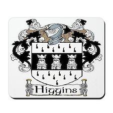 Higgins Coat of Arms Mousepad