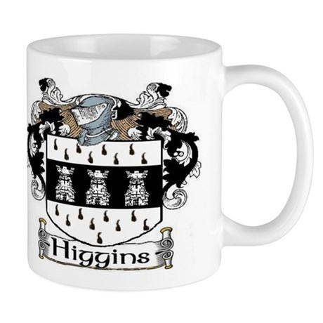 Higgins Coat of Arms Mug