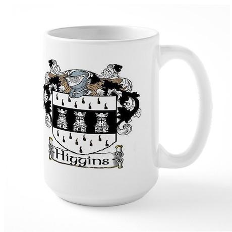 Higgins Coat of Arms Large Mug