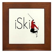 iSki Framed Tile
