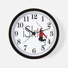 iSki Wall Clock