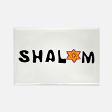 Shalom Rectangle Magnet (10 pack)