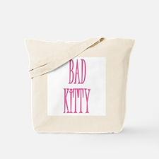 BAD KITTY Tote Bag