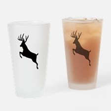 Buck deer Drinking Glass