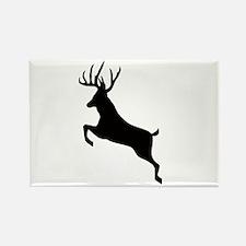 Buck deer Rectangle Magnet (100 pack)
