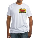 Terrorist Hunting Permit Fitted T-Shirt