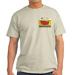 Terrorist Hunting Permit Ash Grey T-Shirt