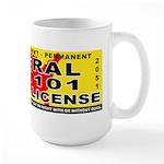 Terrorist Hunting Permit Large Mug