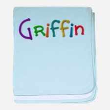 Griffin Play Clay baby blanket
