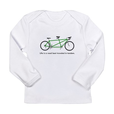 Life is a road Long Sleeve Infant T-Shirt