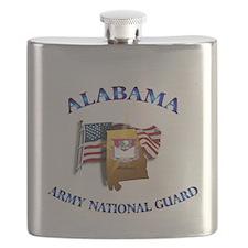 Alabama Army National Guard (ARNG) Flask