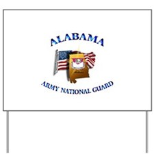 Alabama Army National Guard (ARNG) Yard Sign