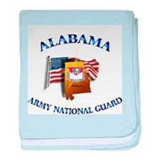 Alabama Army National Guard (ARNG) baby blanket