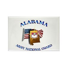 Alabama Army National Guard (ARNG) Rectangle Magne