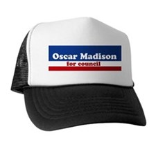 Oscar Madison for Council Trucker Hat