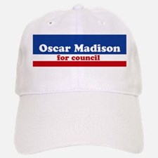 Oscar Madison for Council Baseball Baseball Cap