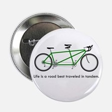 """Life is a road 2.25"""" Button"""