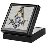 Masonic Square Keepsake Boxes