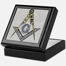 Cute Masonic Keepsake Box