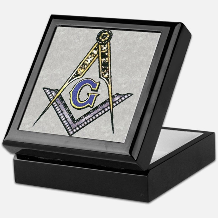 Cute Masonic Keepsake Box