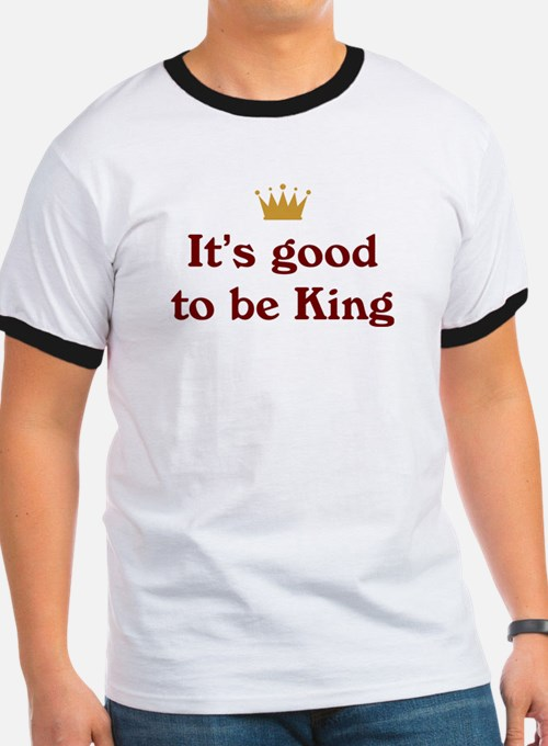 It's good to be King T