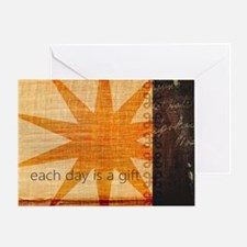"Sunburst ""Gift"" Greeting Card"