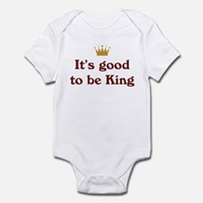 It's good to be King Infant Creeper